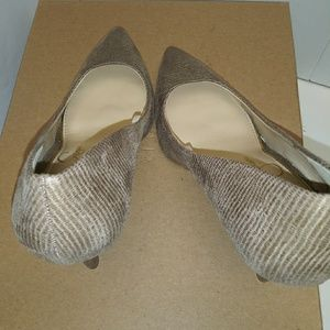 Jessica Simpson taupe color brand new heels